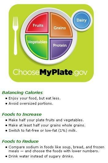 My Plate Planner Diabetes