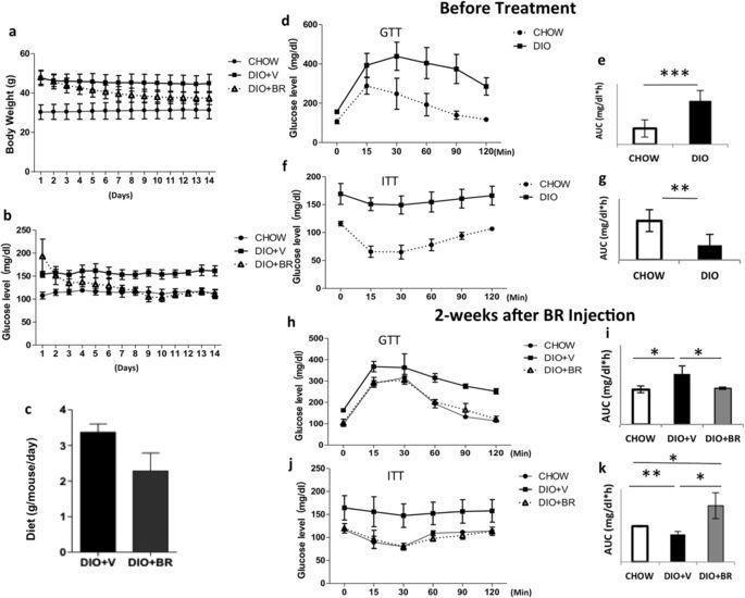 Bilirubin Increases Insulin Sensitivity By Regulating Cholesterol Metabolism, Adipokines And Pparγ Levels