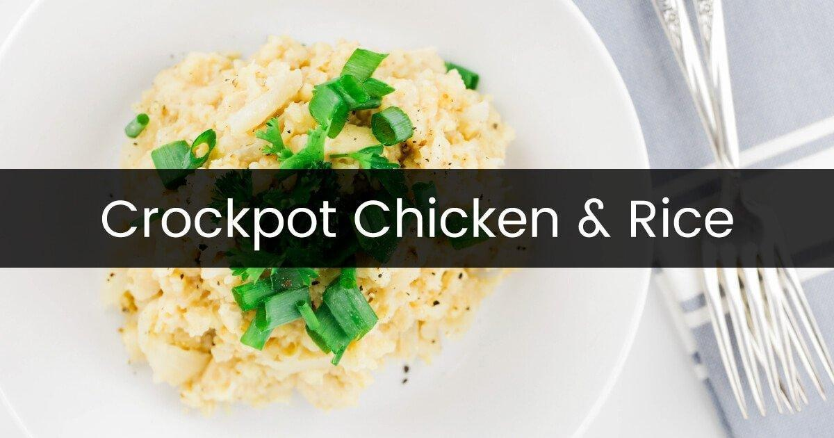 Crockpot Chicken And Rice Recipe - Dr.axe