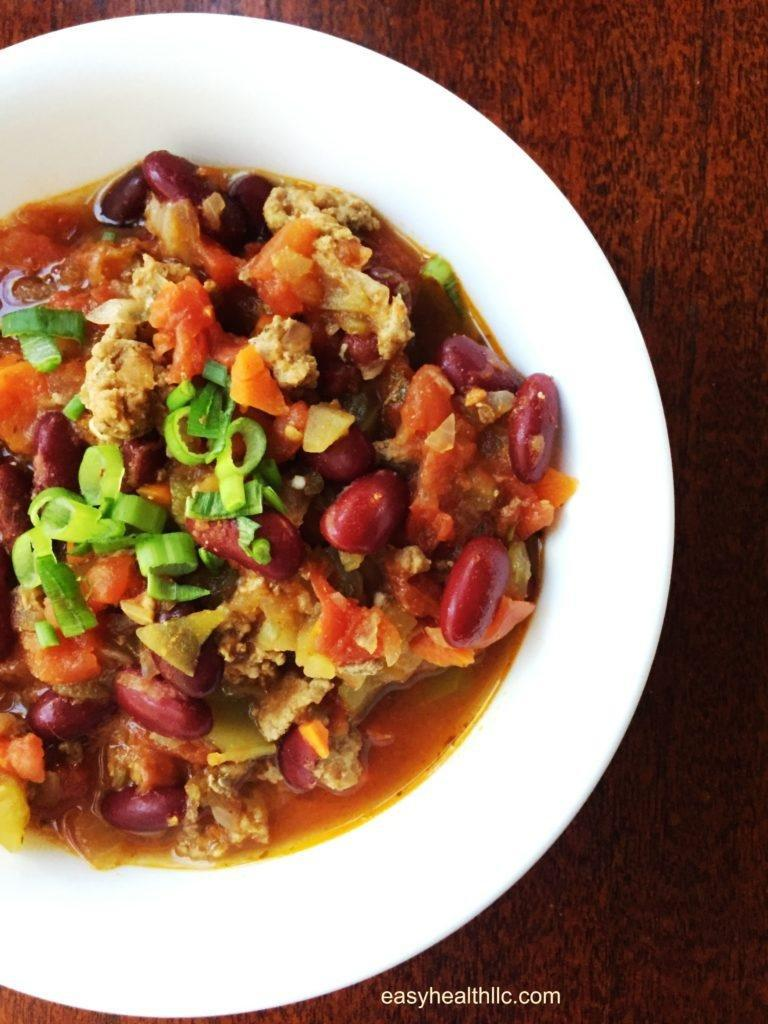 Beef And Veggie Chili Made Diabetes Friendly