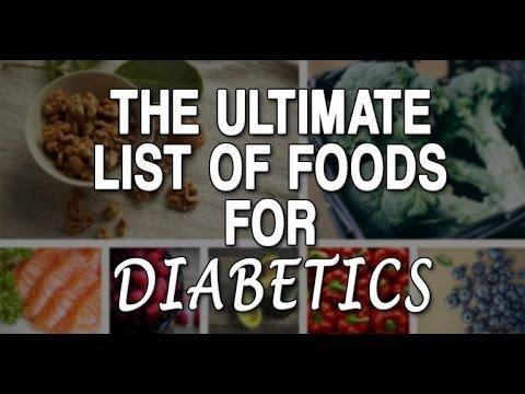 Printable List Of Foods For Diabetics