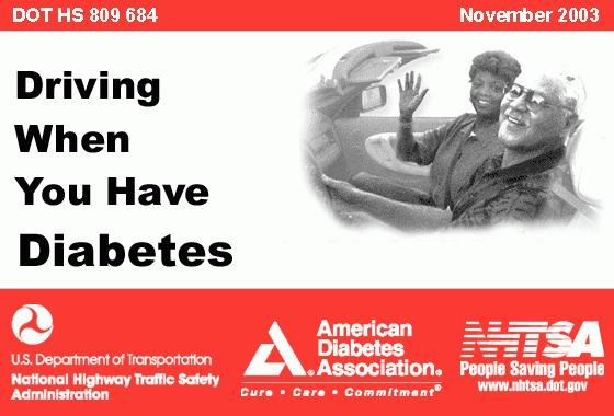 Driving When You Have Diabetes