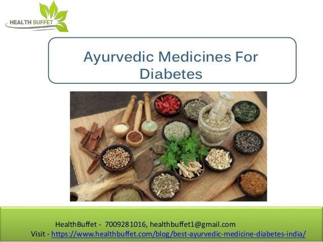 Ayurvedic Medicine For Diabetes in India