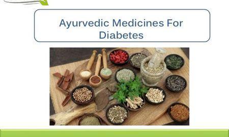 Ayurvedic Medicine For Diabetes in India