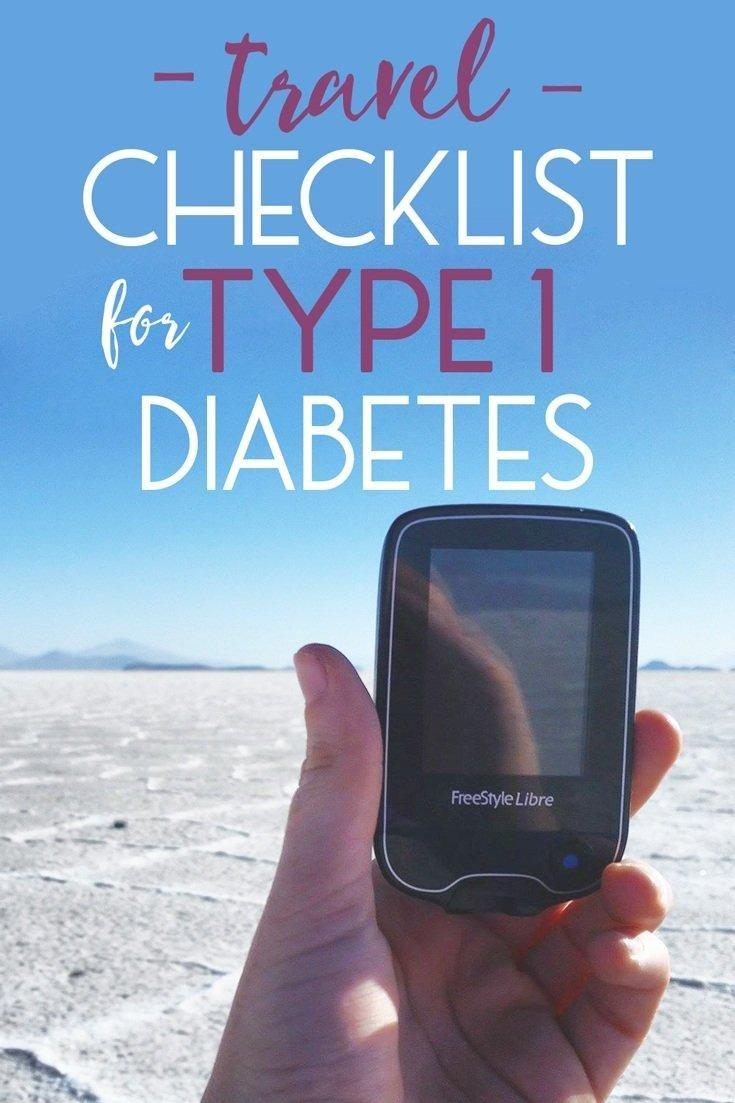 Traveling With Diabetes Checklist