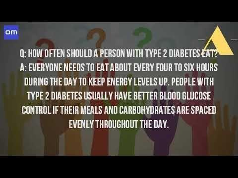 How Many Times A Day Should A Type 1 Diabetic Eat