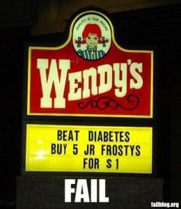 Wendy's Diabetics