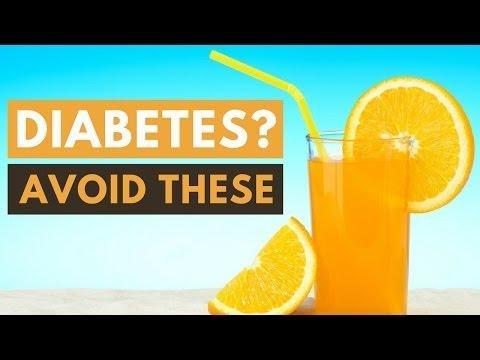 What Foods To Avoid With Diabetes