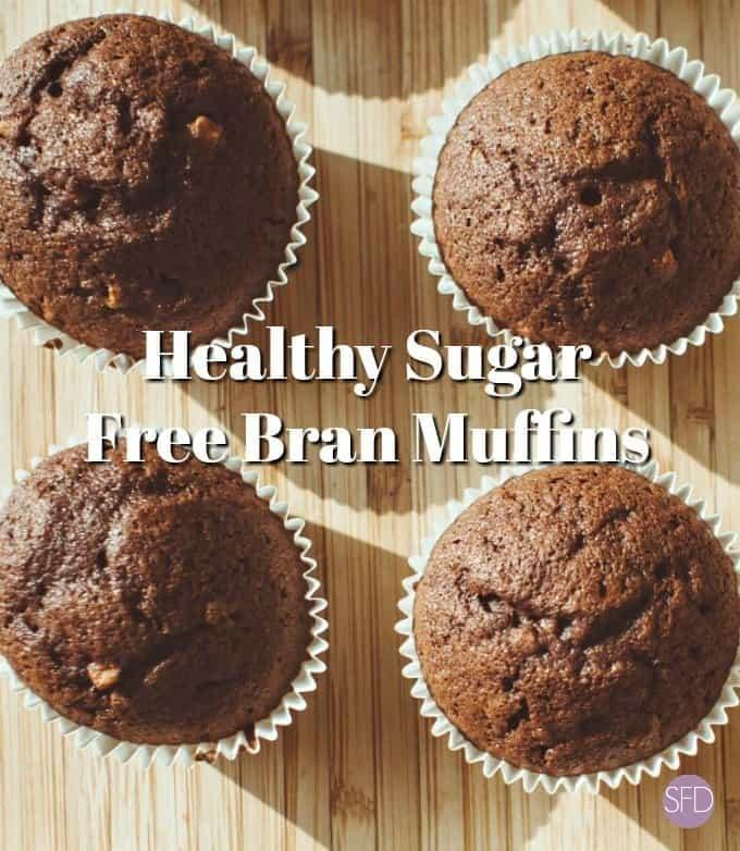 The Recipe For Delicious And Healthy Sugar Free Bran Muffins