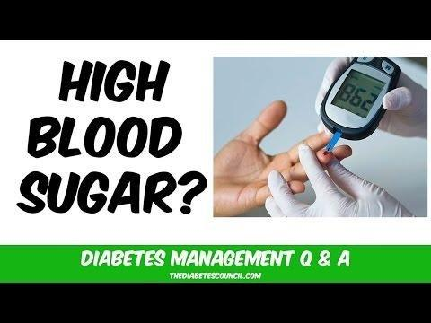 Very High Sugar Levels Diabetes