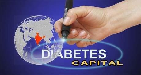 India Diabetes Capital Of The World