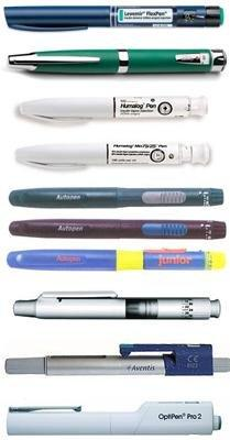 Types Of Insulin Pens Available'