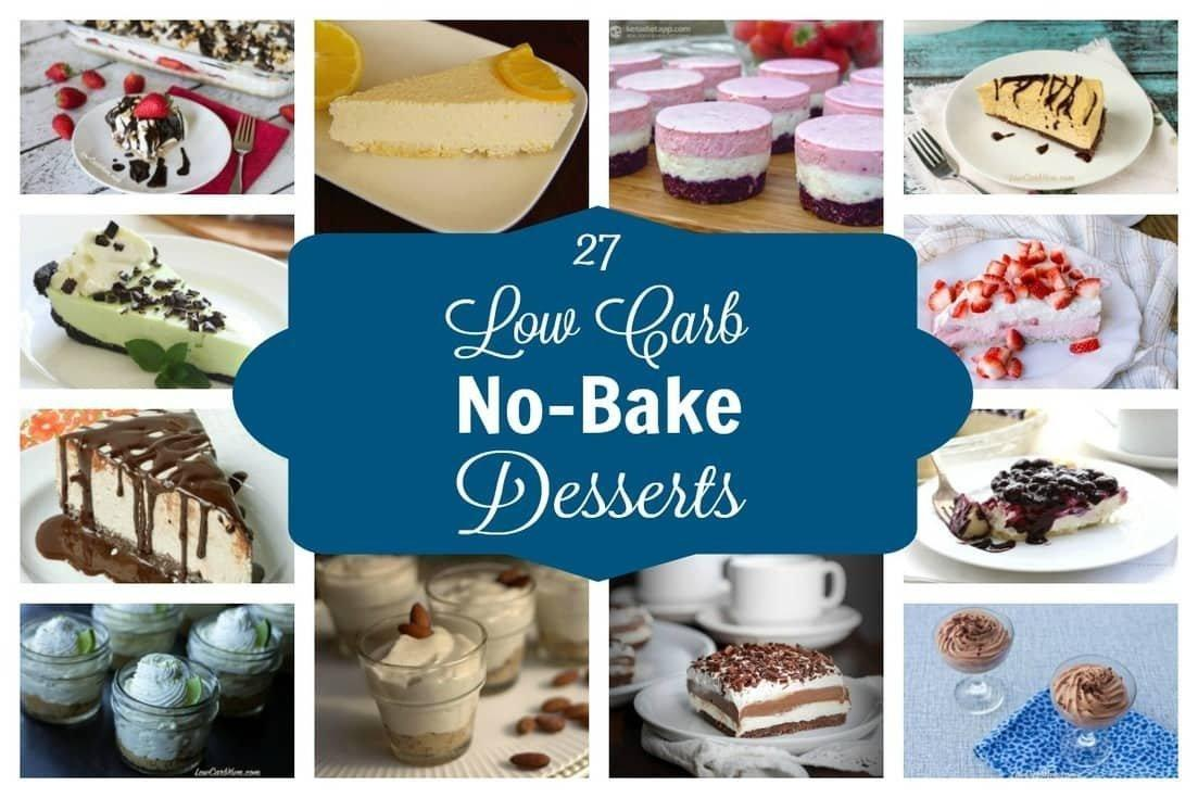 Low Carb And Low Sugar Dessert Recipes