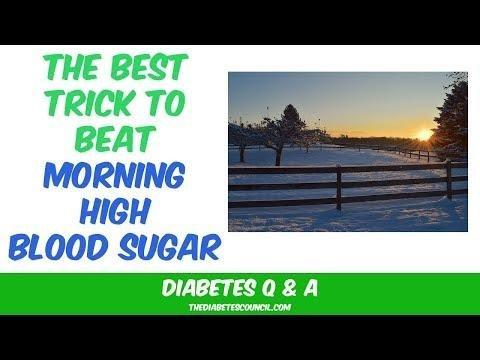 Lower Morning Blood Sugar Naturally