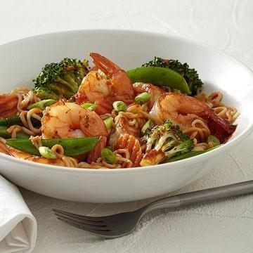 Asian Stir-fry With Shrimp