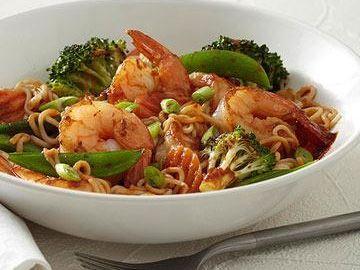 Shrimp Stir-fry For Diabetics