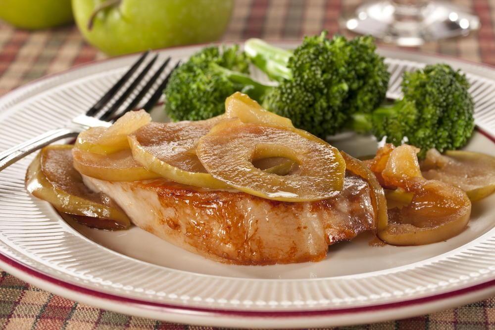 Diabetic Pork Chops Apples Recipe