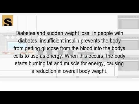 What Kind Of Diabetes Causes Weight Loss