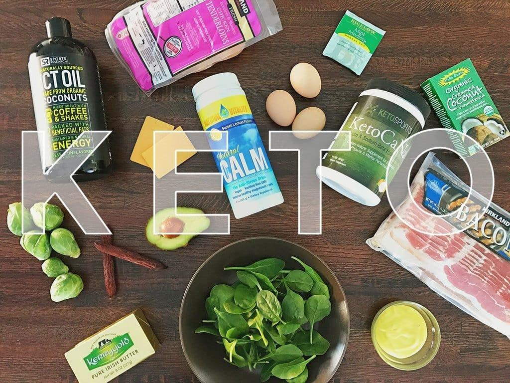 Keto Meal Plan Example