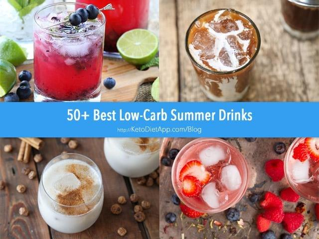 50+ Best Low-carb Summer Drinks