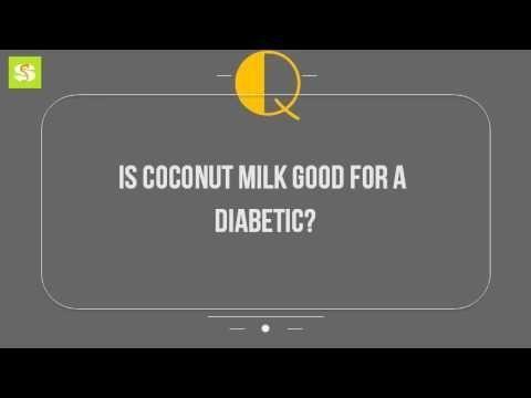 Can Diabetics Eat Coconut Milk