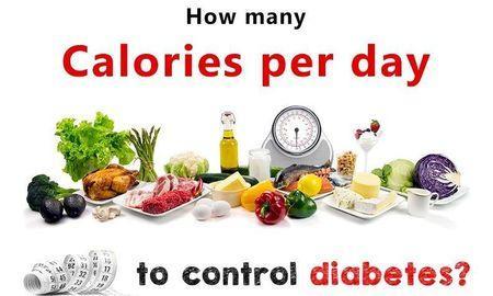 How Many Calories Should A Diabetic Burn Per Day