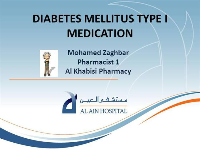 Diabetes Mellitus Type I Medication