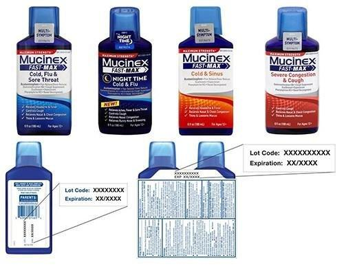 Mucinex Recall: Several Cold Medicine Products Have Incorrect Ingredient Labels
