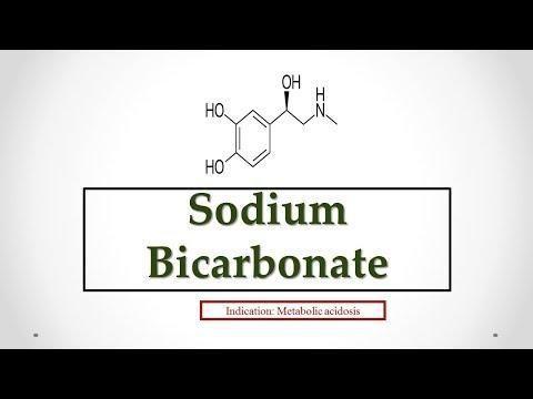 Lactic Acidosis Treatment With Sodium Bicarbonate