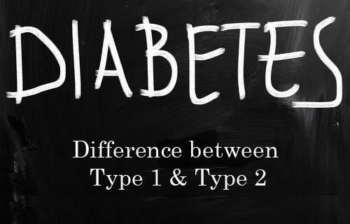 Difference Between Type One And Type Two Diabetes