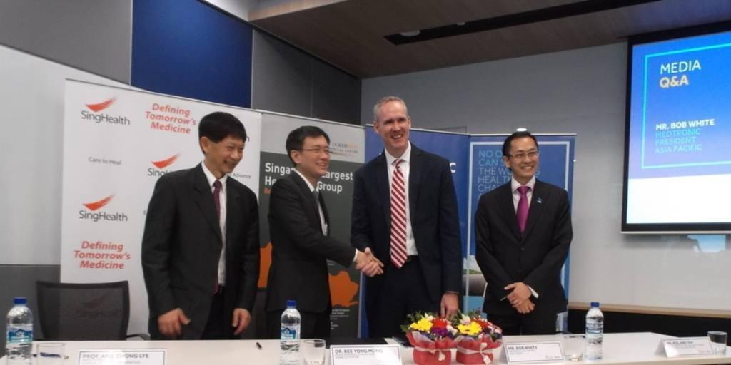 Medtronic Partners With Singhealth To Fight Diabetes