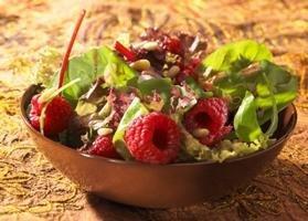 Green Salad With Raspberry Vinaigrette
