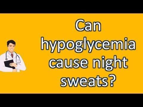 Do Diabetics Have Night Sweats?