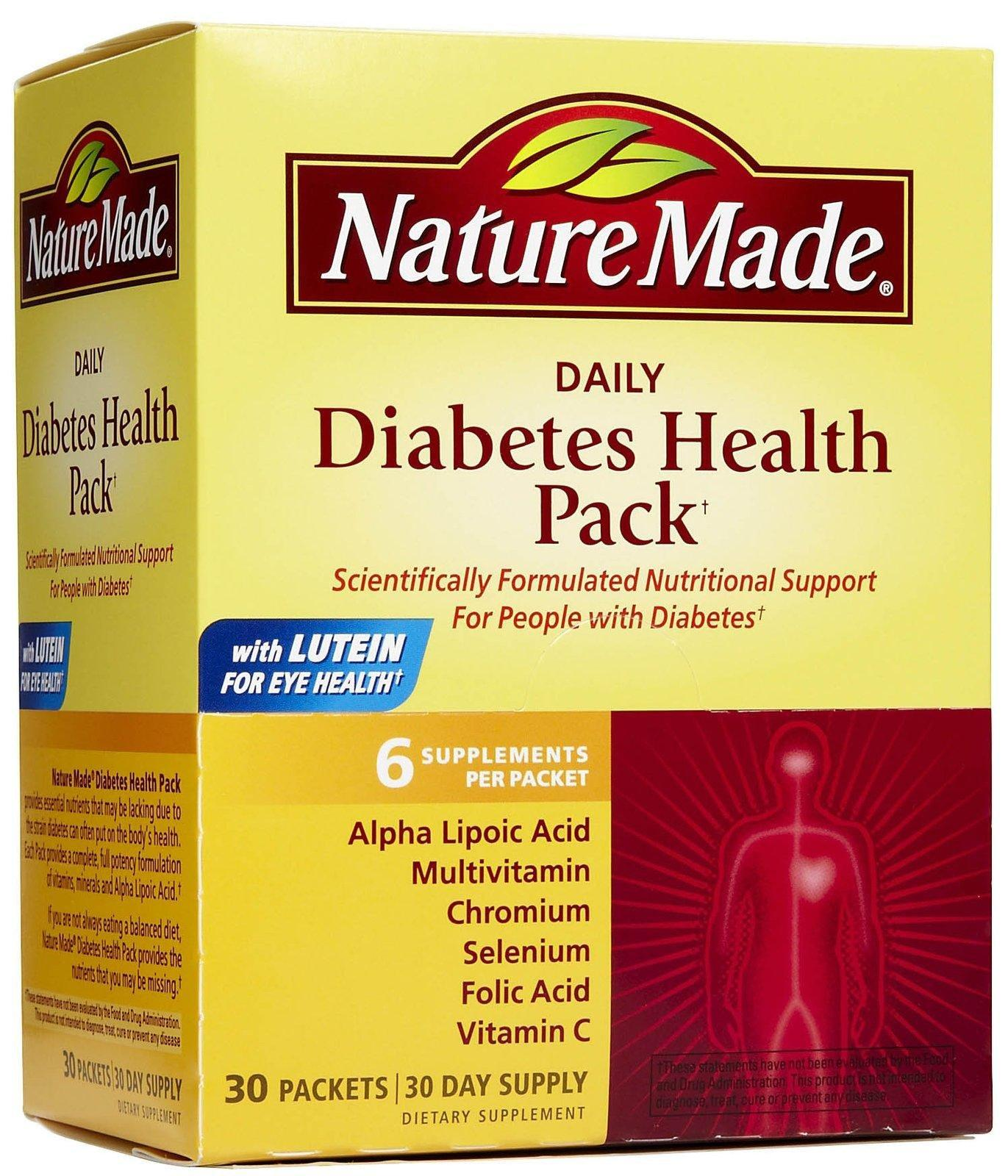 Nature Made Diabetes Health Pack Review