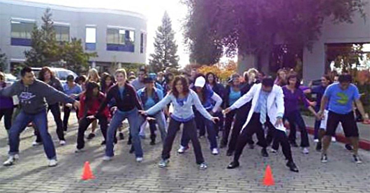 It's a Gangnam Style Flash Mob for Diabetes — With a Special Guest at 1:18!
