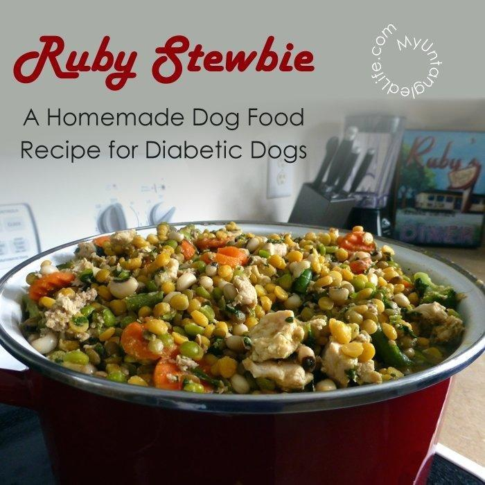 Homemade Dog Food For Diabetic Dogs