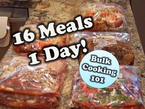 Once A Month Cooking For Diabetics