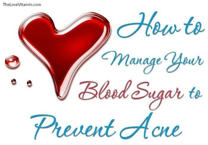 Manage Your Blood Sugar To Prevent Acne