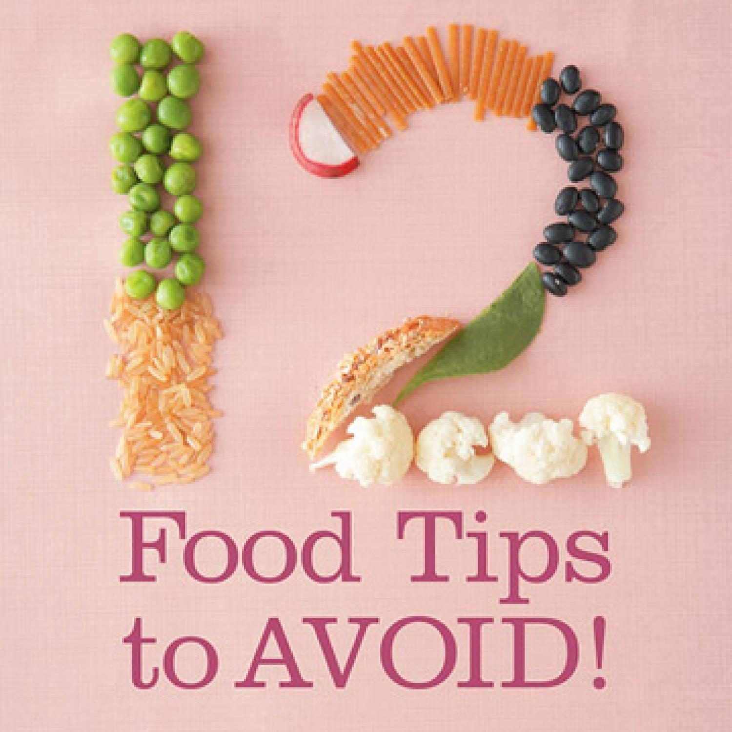 12 Diabetes Food Tips to Avoid