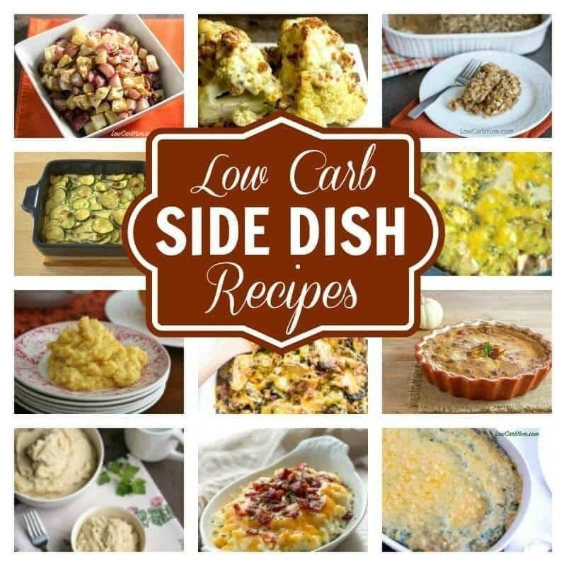 Low Carb Side Dishes Perfect For Any Meal