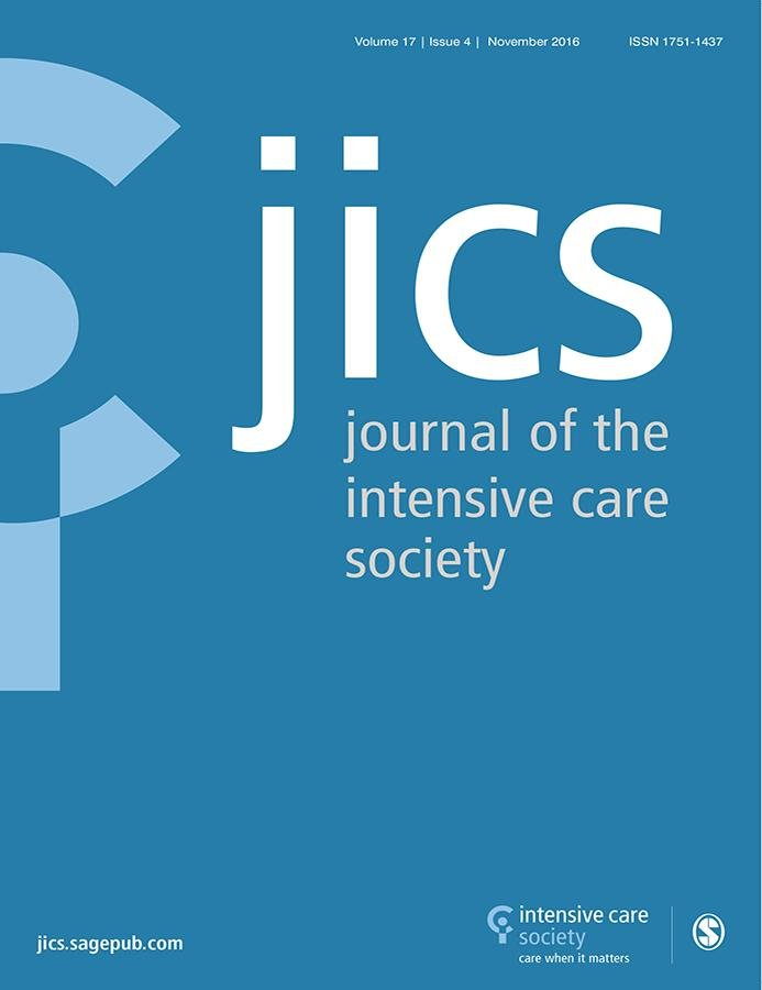 Journal Of The Intensive Care Society