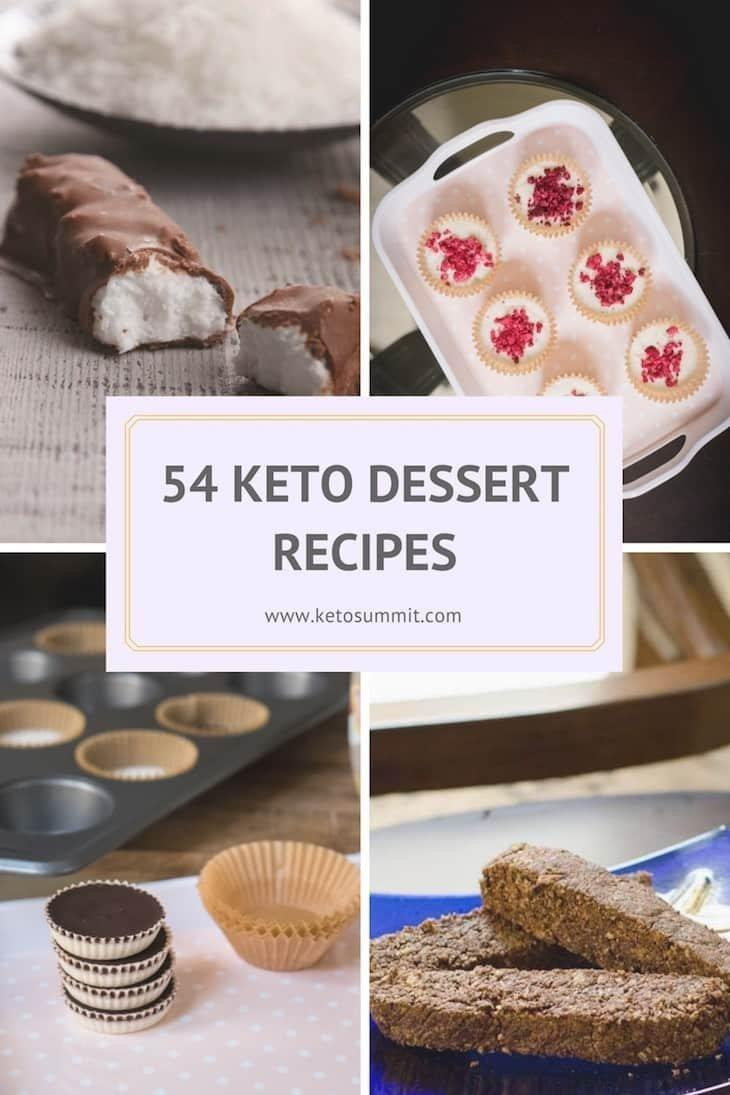 54 Ketogenic Dessert Recipes To Satisfy Your Sweet Tooth