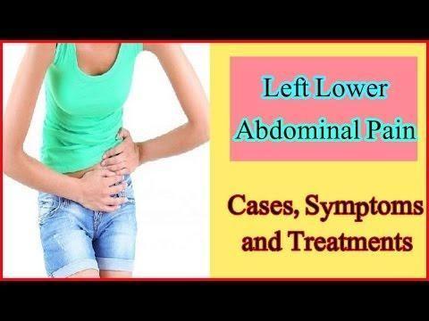 Diabetes Abdominal Pain Left Side