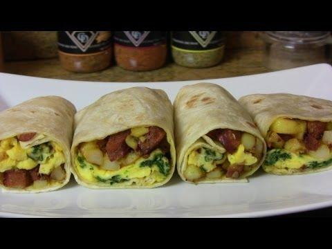 Breakfast Burrito- Diabetes Friendly Thursdays
