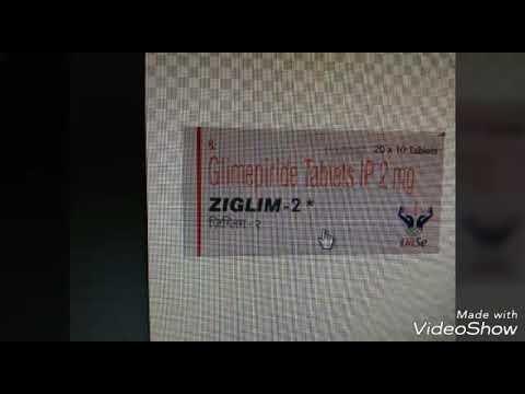 Glimepiride 2mg +metformin 500mg Tablet