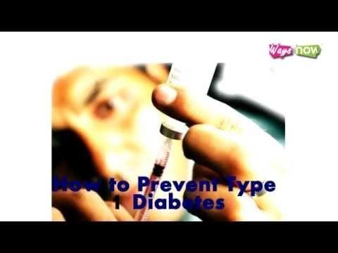 How To Prevent Diabetes Type 1