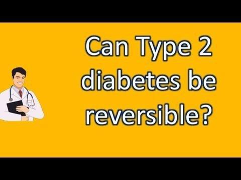 Is Type 2 Diabetes Reversible With Weight Loss