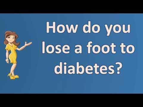 Why Do Diabetics Lose Feeling In Their Feet?