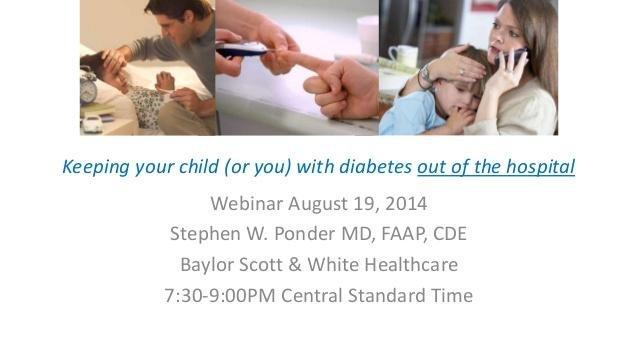 How To Keep Your Child With Diabetes Out Of The Hospital Or Er