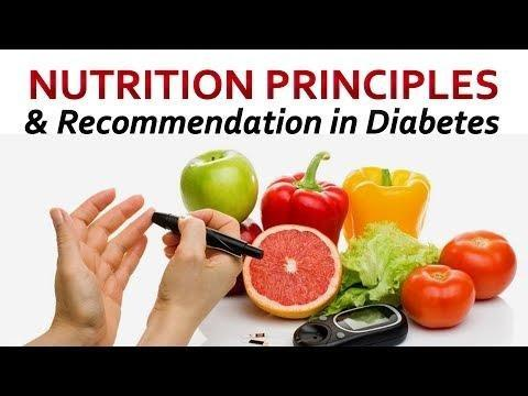 Nutrition Principles And Recommendations In Diabetes